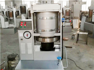 cottonseed oil machinery