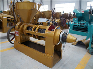 made in big capacity oil press machinery for rapeseed