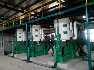 oil mill machinery vegetable oil refining| oil