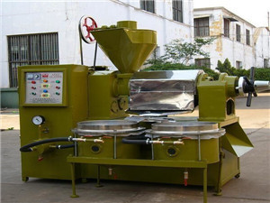 hydraulic oil press and home oil press manufacturer
