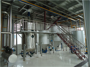 corn germ oil refinery plant for sale, edible oil refinery