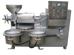 premium vegetable oil press machine for sale at oil mill
