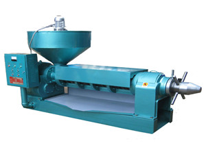 high quality high output screw oil press machine