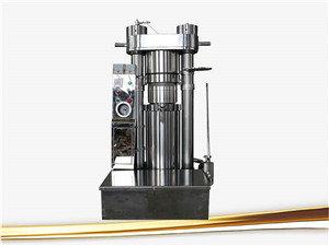 2016 hydraulic type moringa seeds oil pressing machines