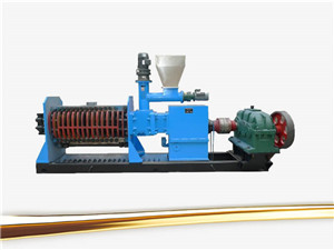 food oil press oil expeller oil extraction machine on