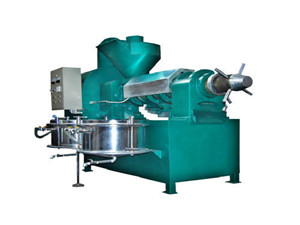 china oil press cooking oil project