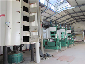 high quality cooking oil extraction machine for turnkey