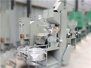 vegetable oil extraction machine manufacturer supplies