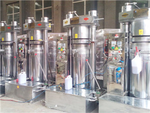 stainless steel high quality small scale palm oil refining