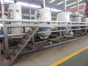 grape seed oil refining processing line oil refining
