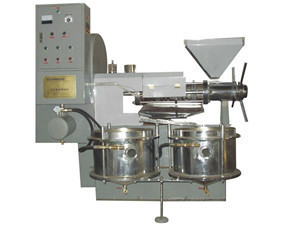 automatic hydraulic oil press and filter machine