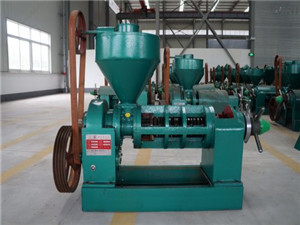 hsm manufacture iso ce screw oil extraction press sesame
