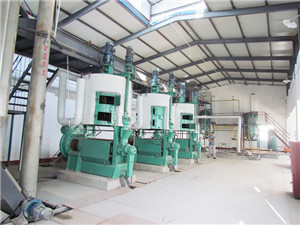 automatic cotton seed oil plant with good machine