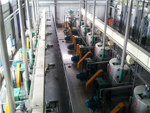 cooking oil mill machinery edible oil refinery