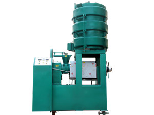 cooking oil making machine/hydraulic olive oil press with