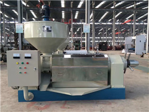 egypt refined soybean oil press machine for aisa
